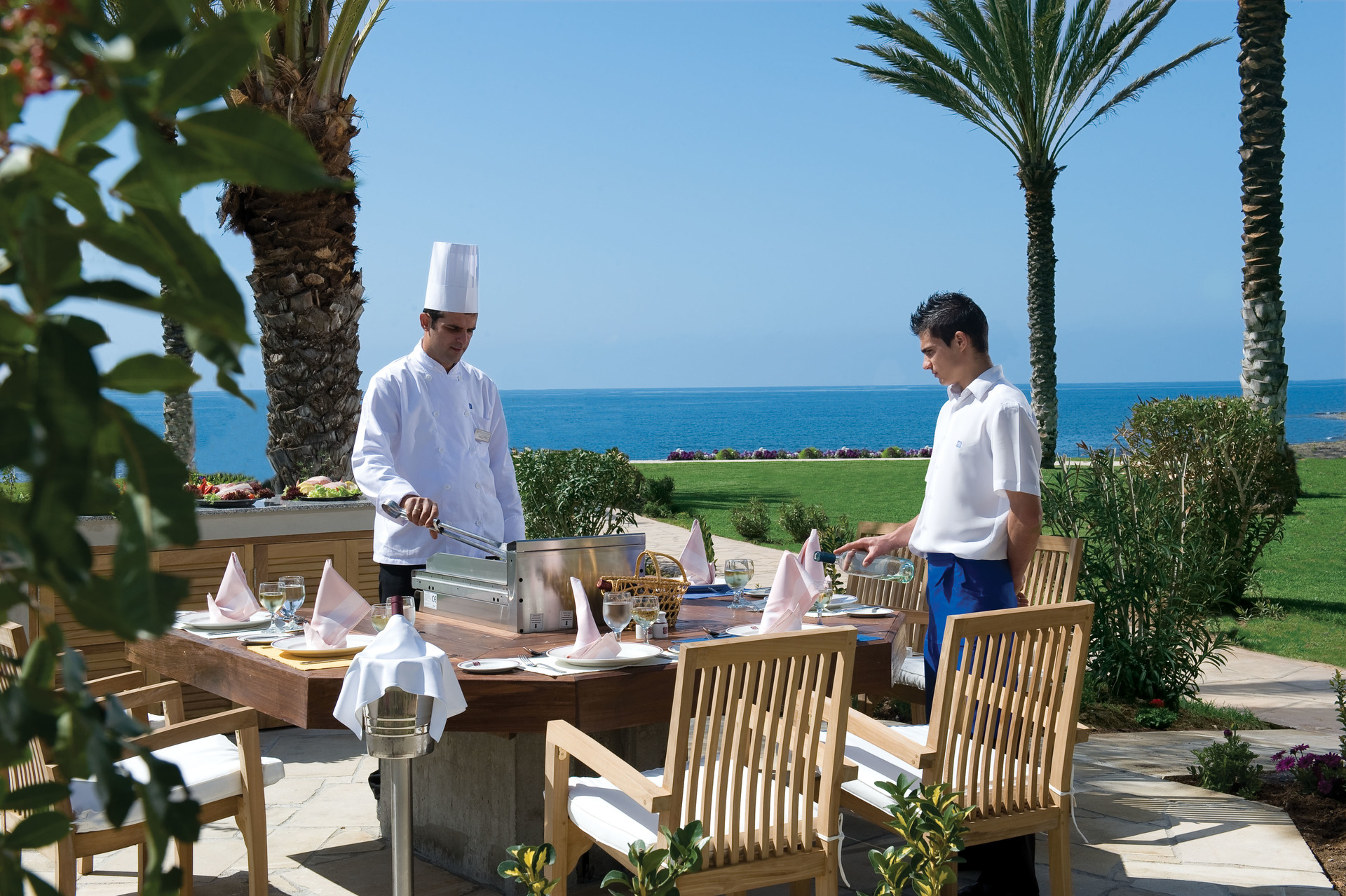 All-inclusive hotel op Cyprus kok