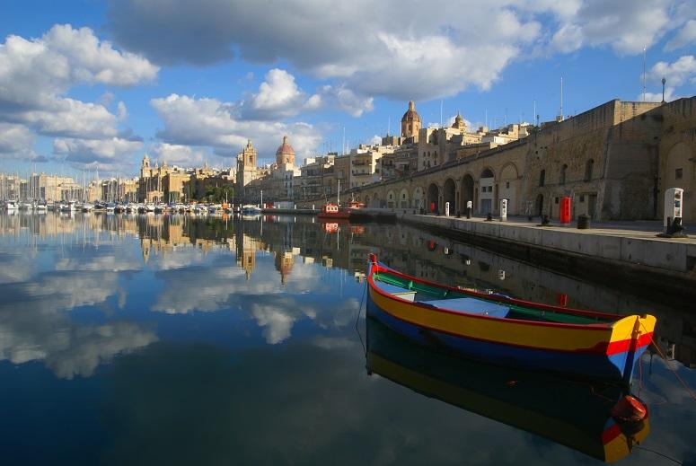 Traditionele Maltese boot, Luzzu, Malta