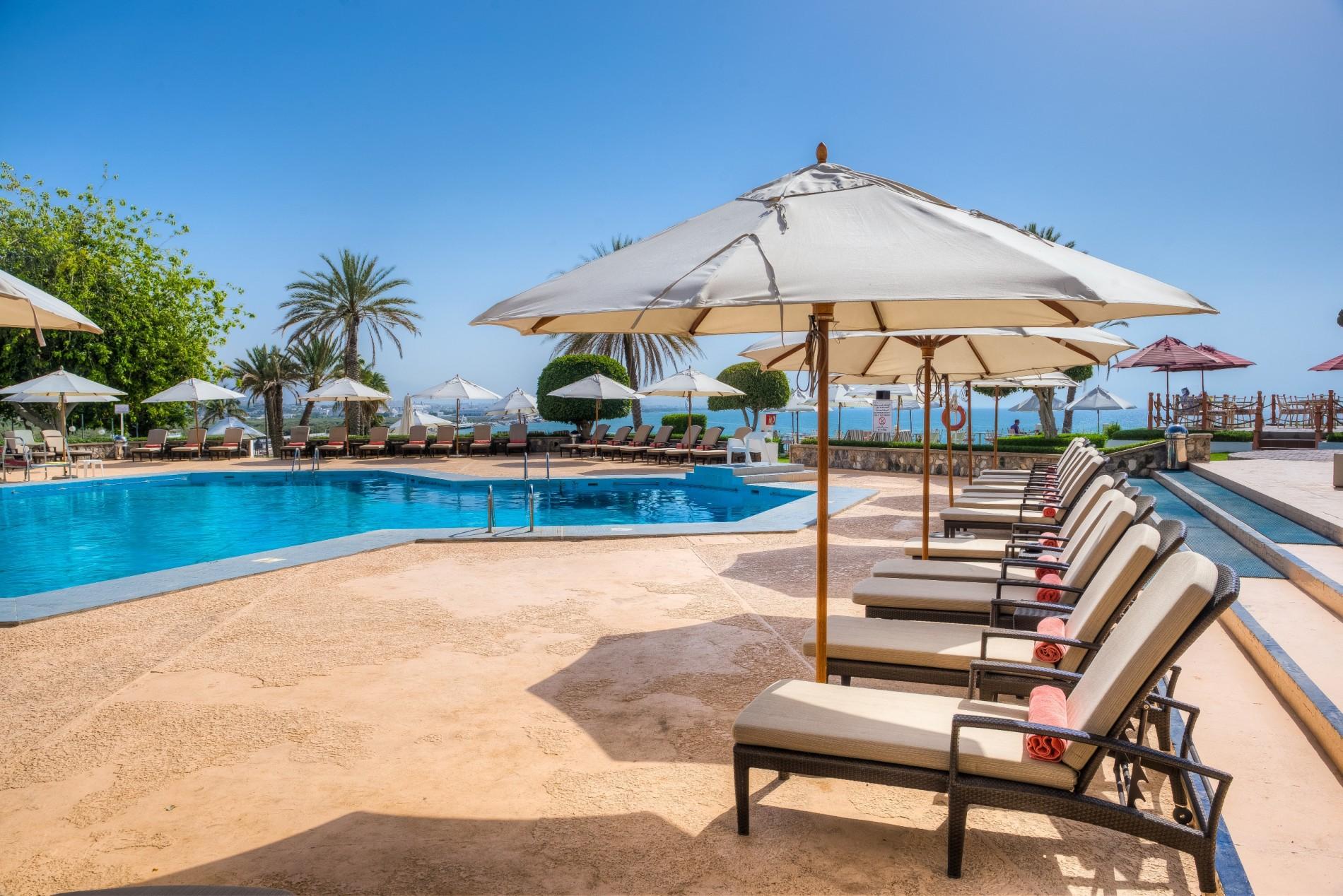 Hotel Crowne plaza muscat zwembad