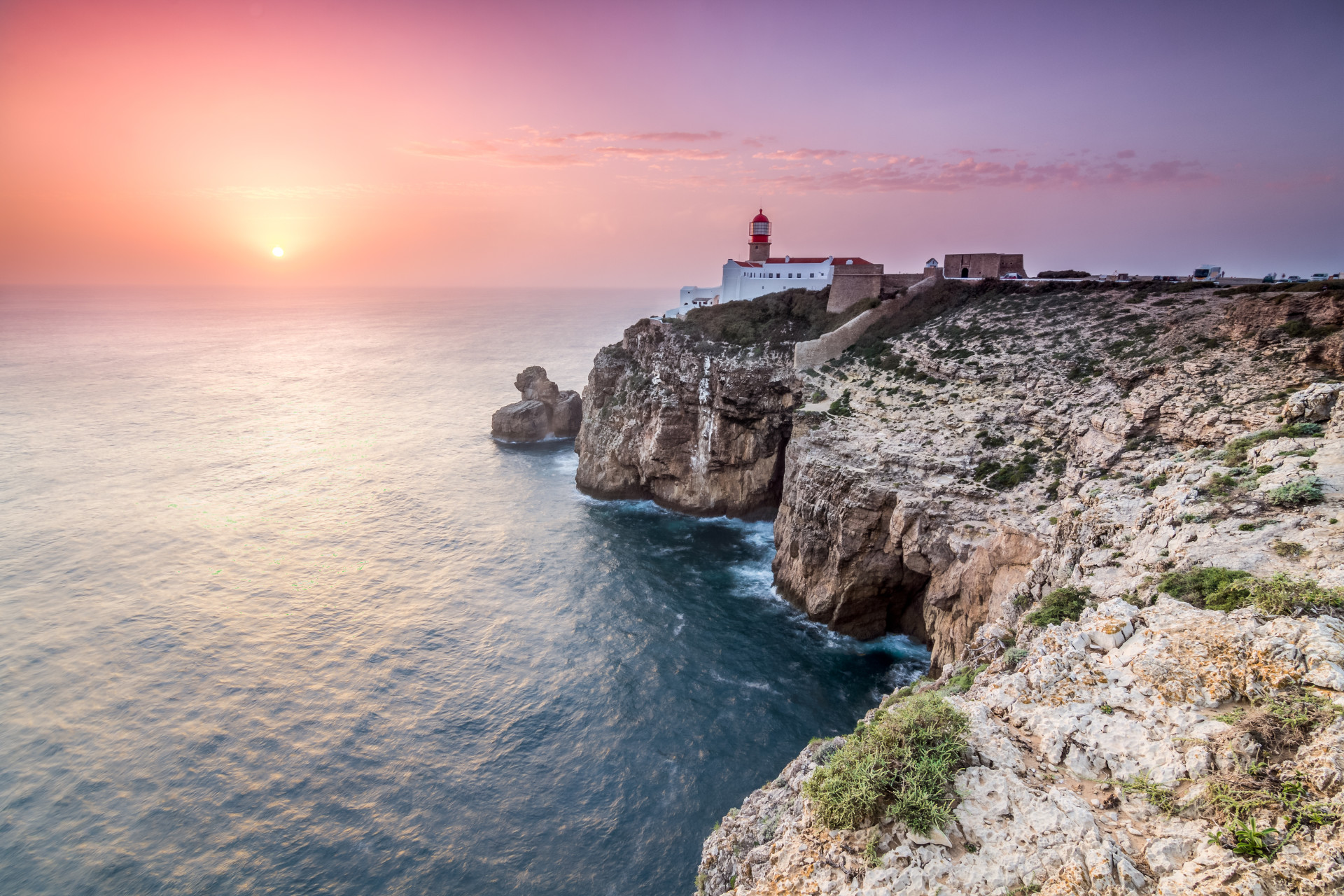 Sagres aan de Algarve