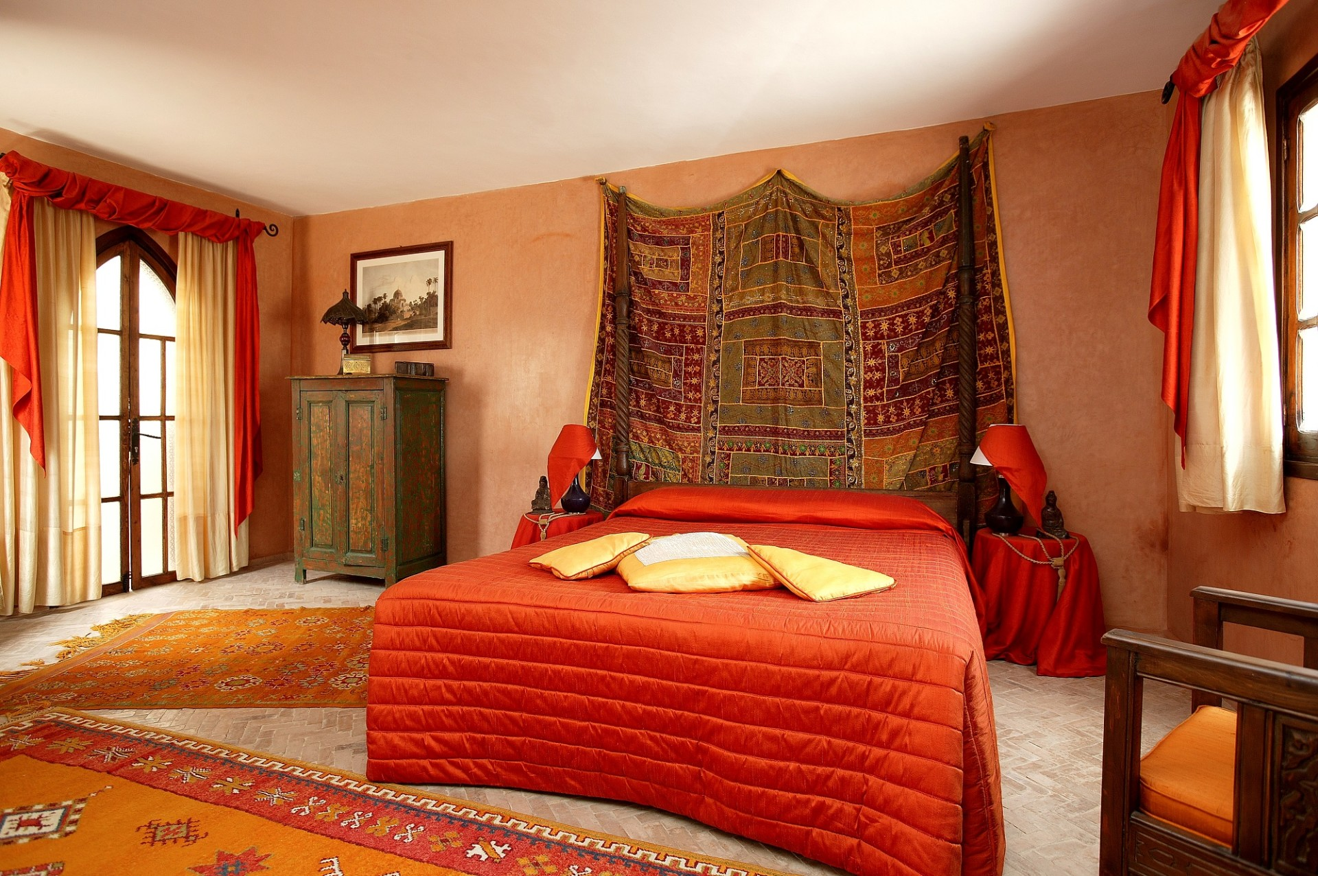 Kamer in Riad Dama, Marrakech, Marokko