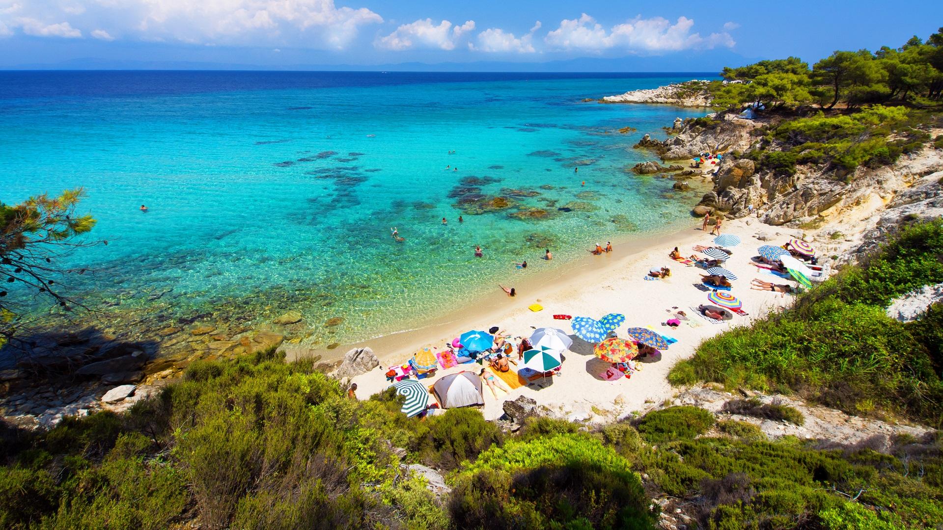 Paradise Bay Beach Halkidiki