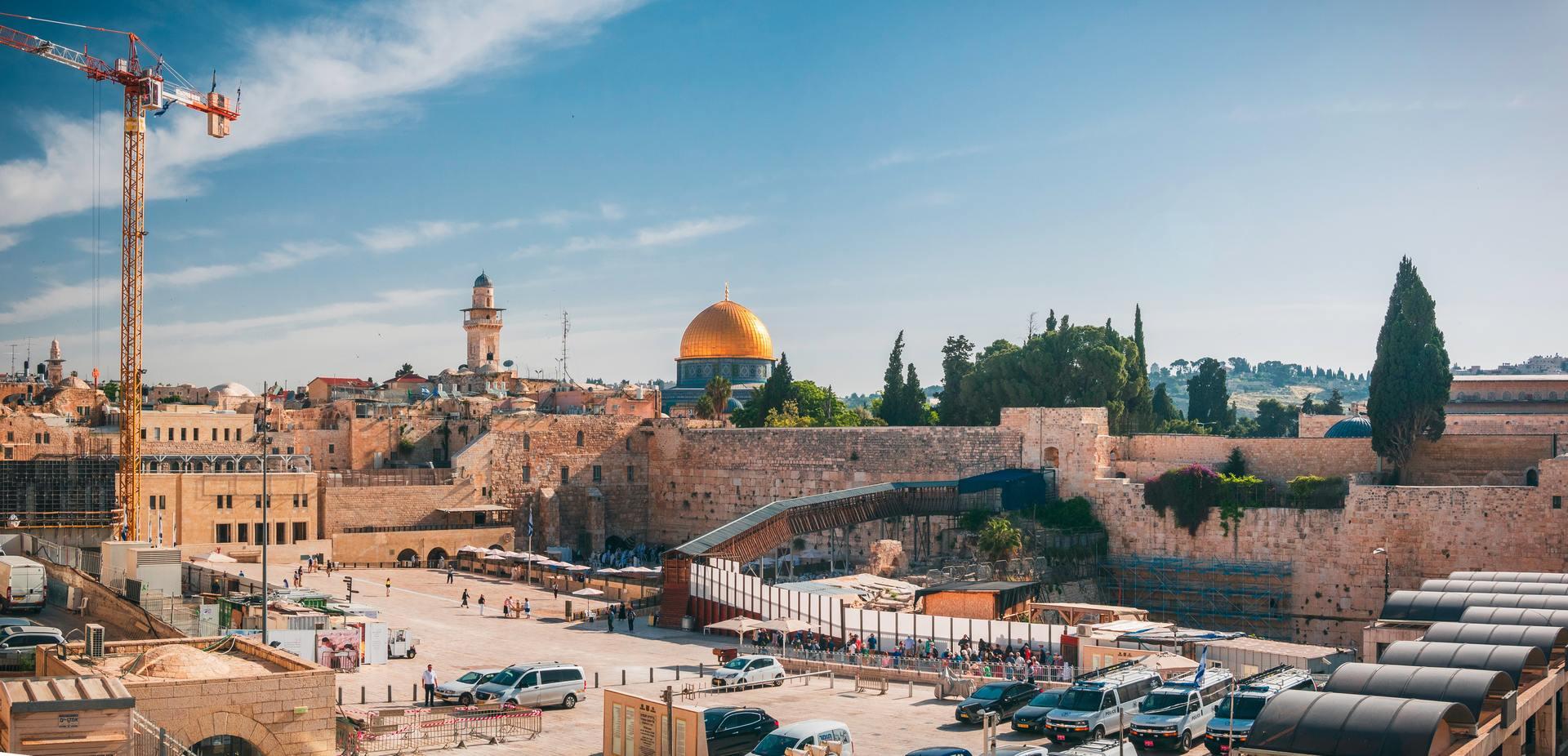 Jeruzalem uitzicht Rotskoepel