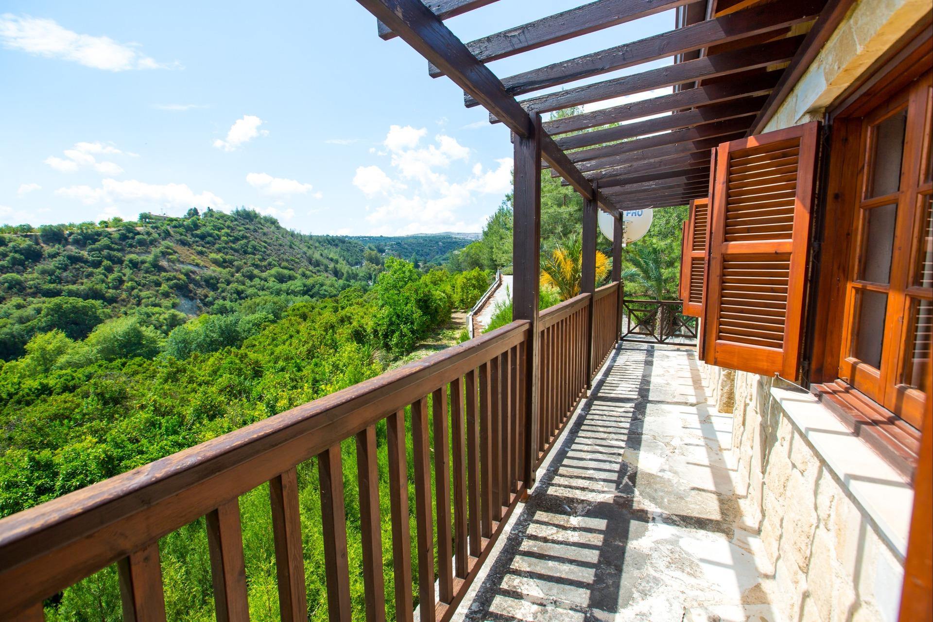 Uitzicht van Z&X Villa's in Akamas, Cyprus