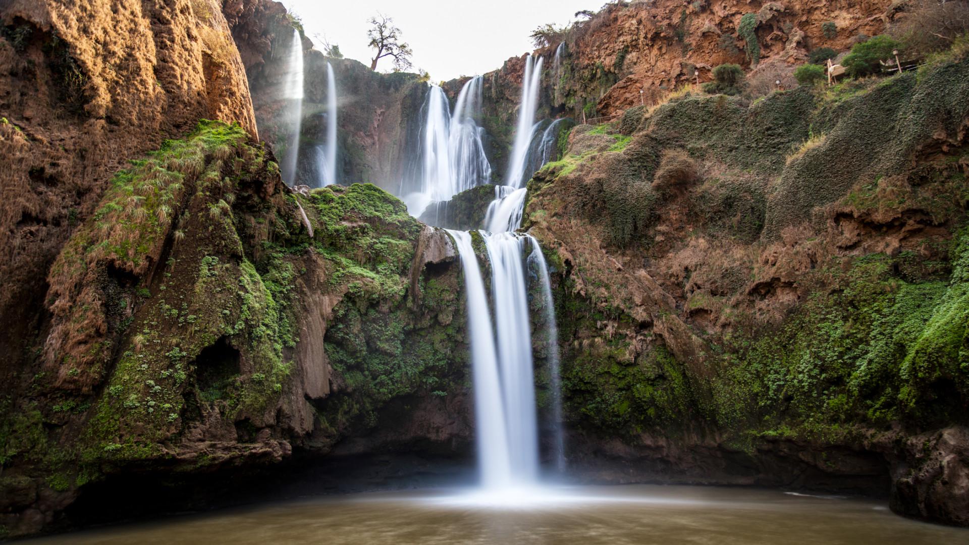 Ouzoud Watervallen, Marokko