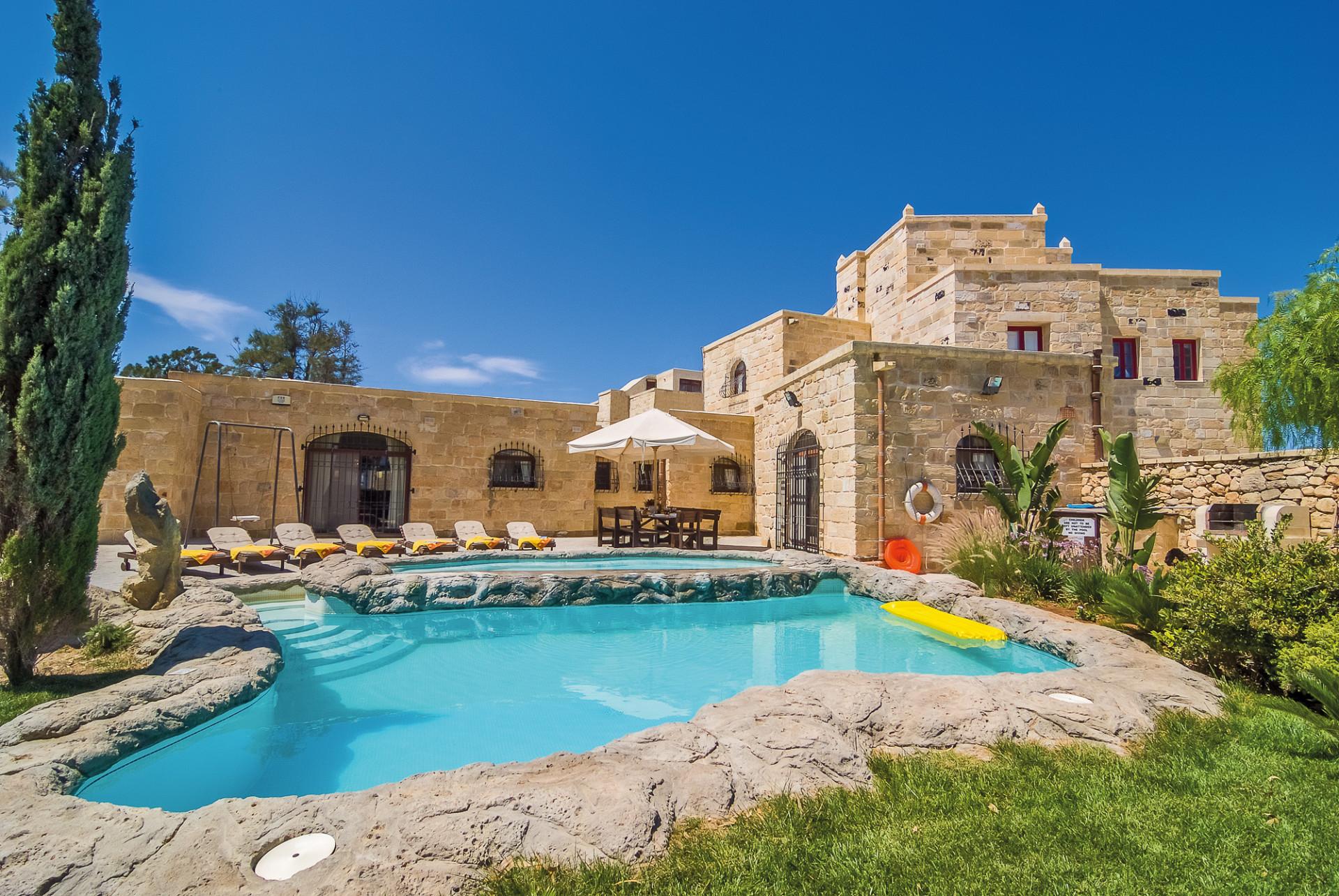 Villa The Chateau met privézwembad, Zejtun, Malta