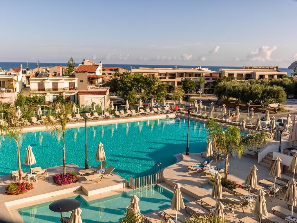 Porto Platanias - Kreta - zwembad