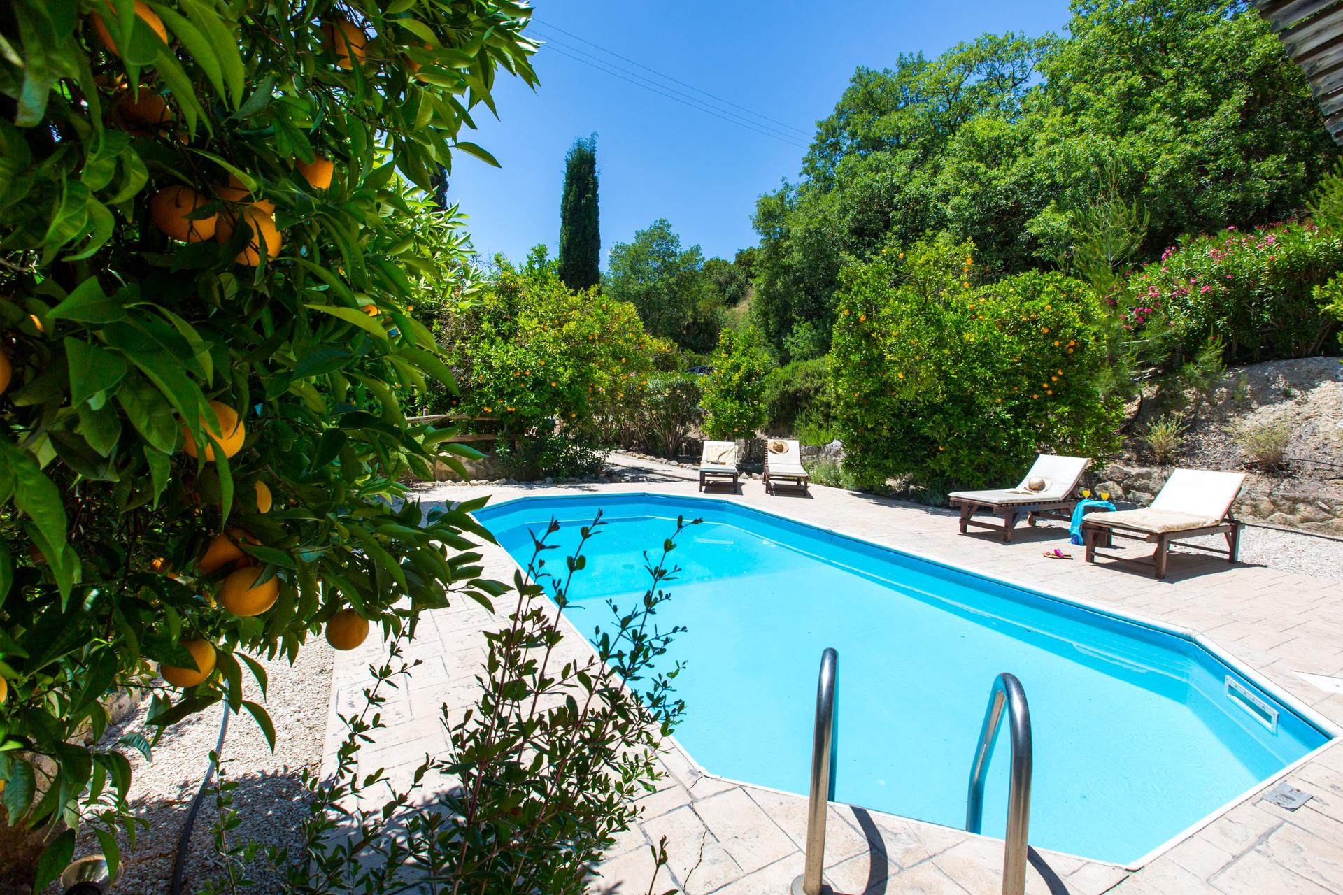Villa's Akamas, zwembad Villa Neraida, Akamas, Cyprus