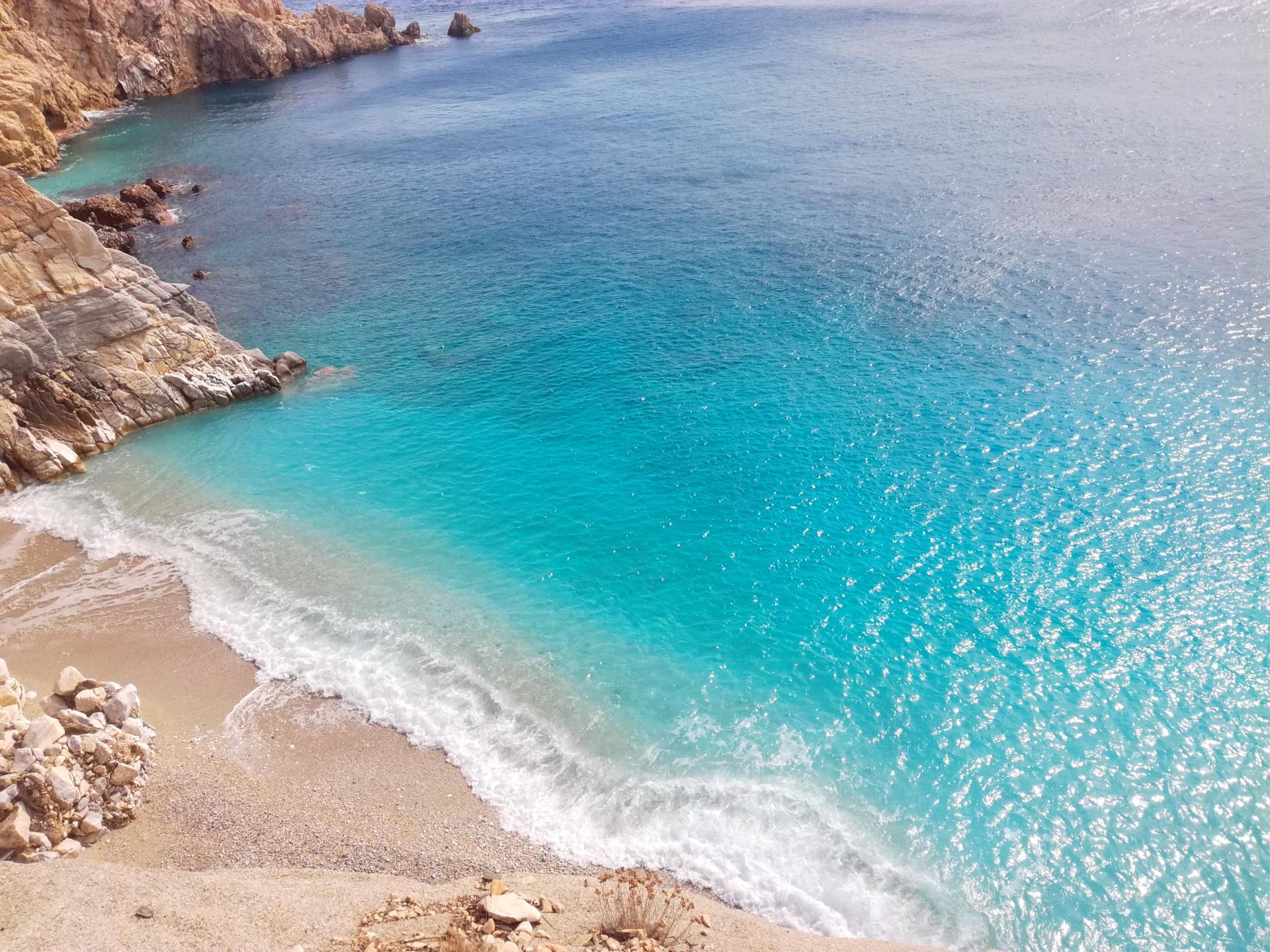 Seychelles beach,  Ikaria, Griekenland