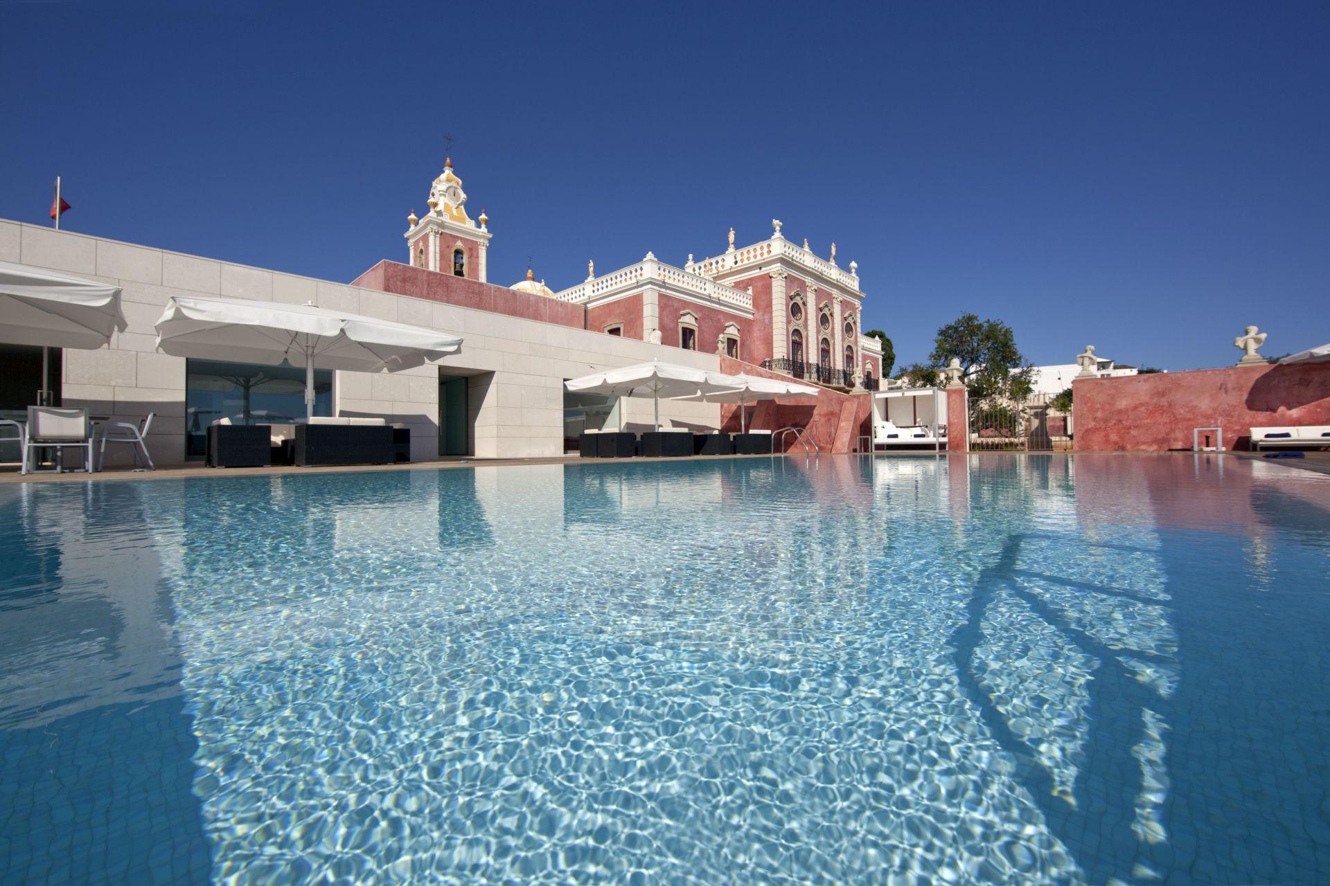 Pousada Palacio Estoi zwembad