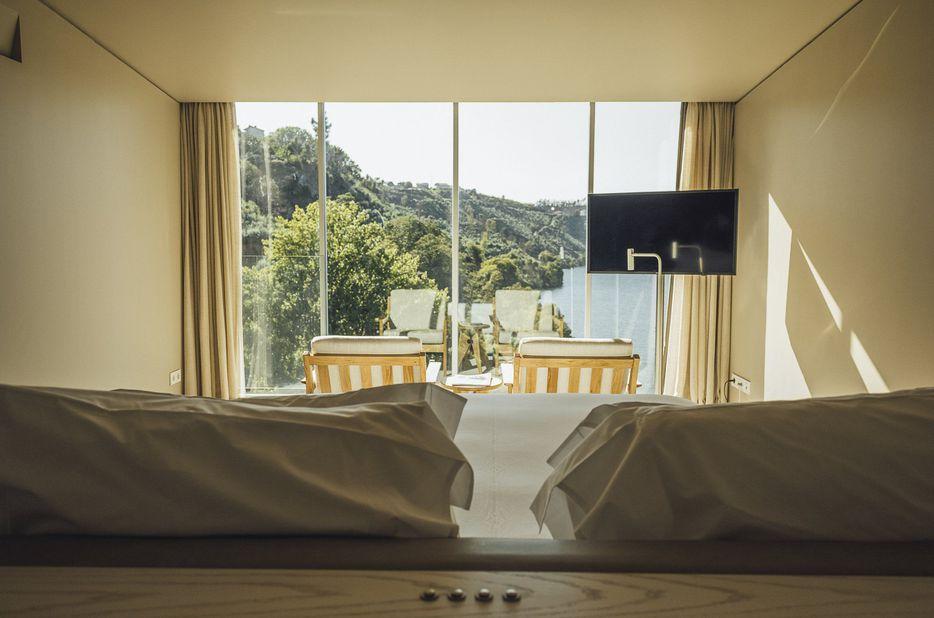 Een kamer in hotel Douro 41
