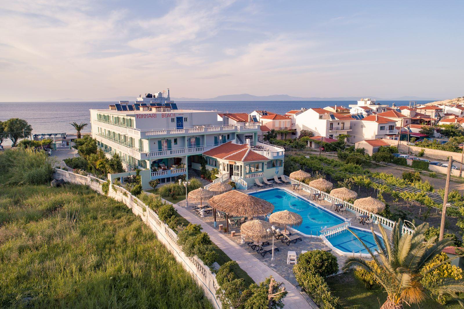 Hotel Kokkari Beach op Samos
