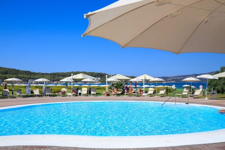 Corte Rosada Sardinie - zwembad