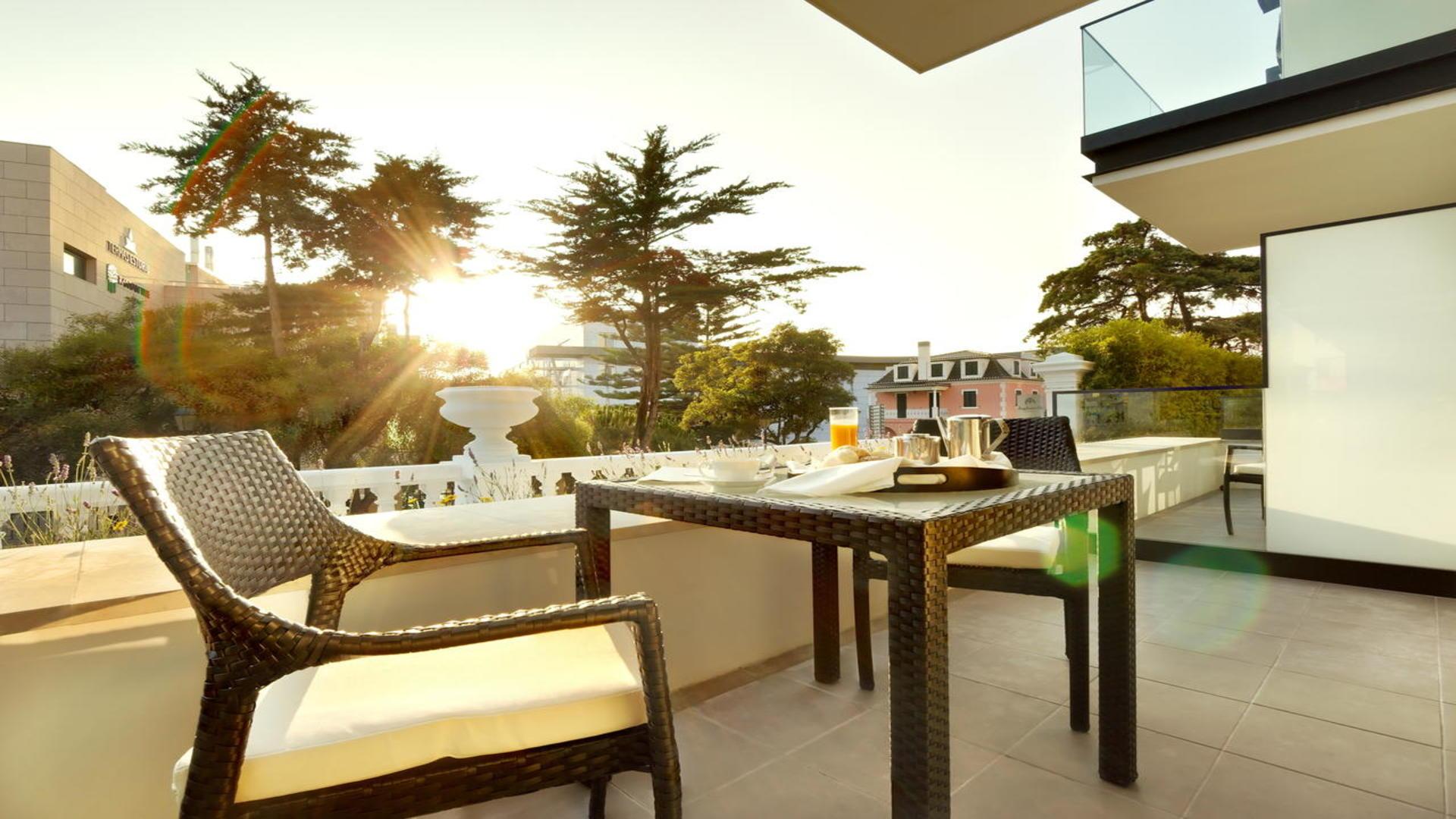 Balkon hotel Inglaterra, Estoril, Portugal