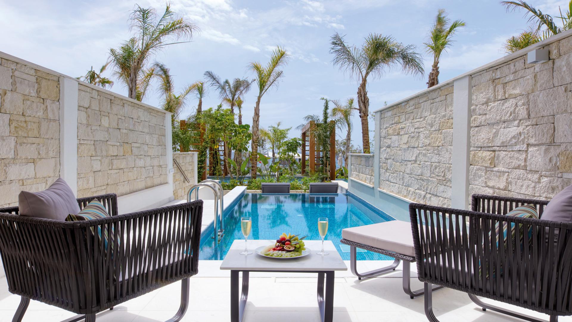Privézwembad, Amavi hotel, Paphos, Cyprus
