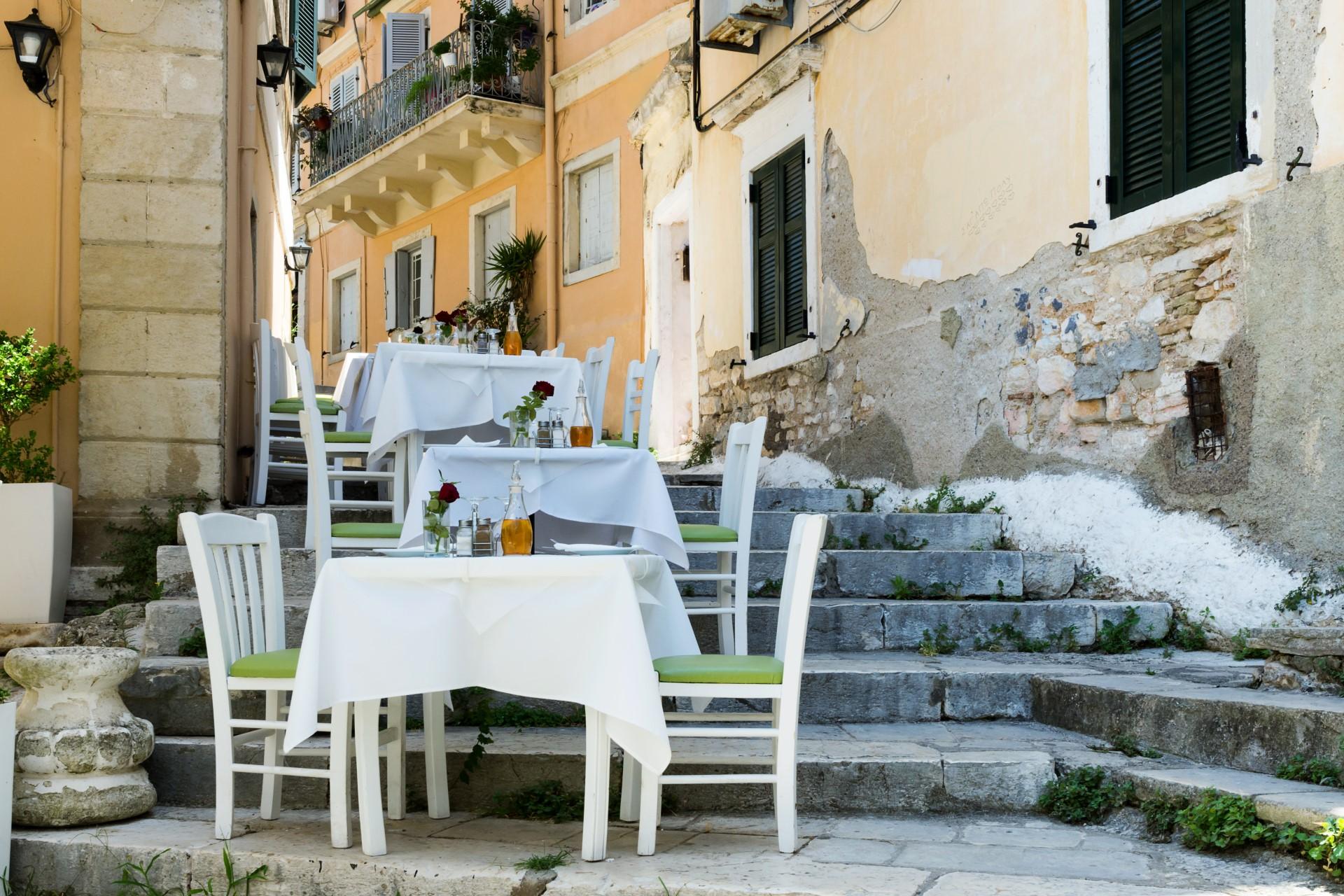 Corfu stad restaurant