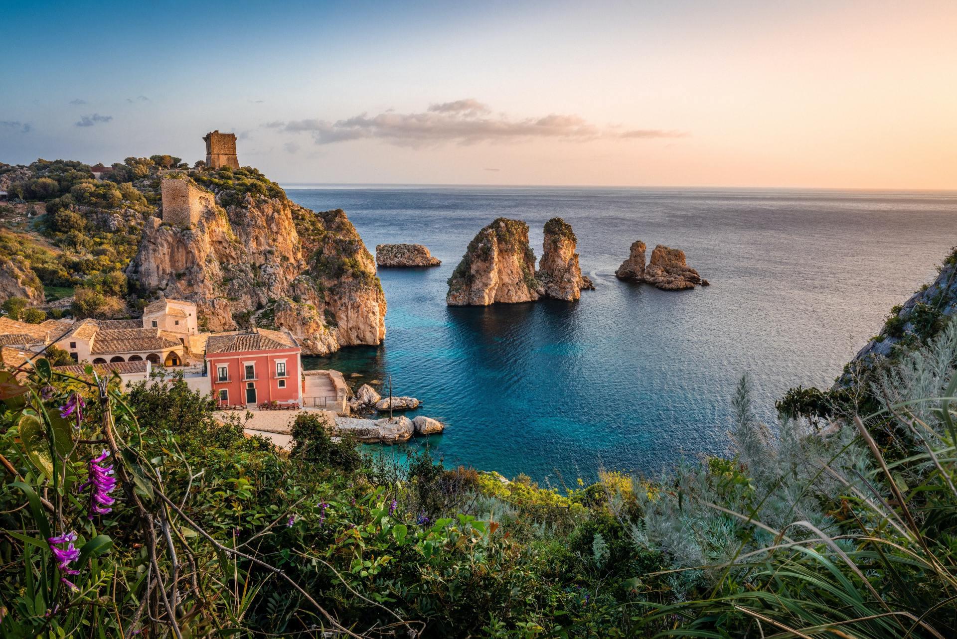 Scopello, Castellammare del Golfo, Italie Sicilie