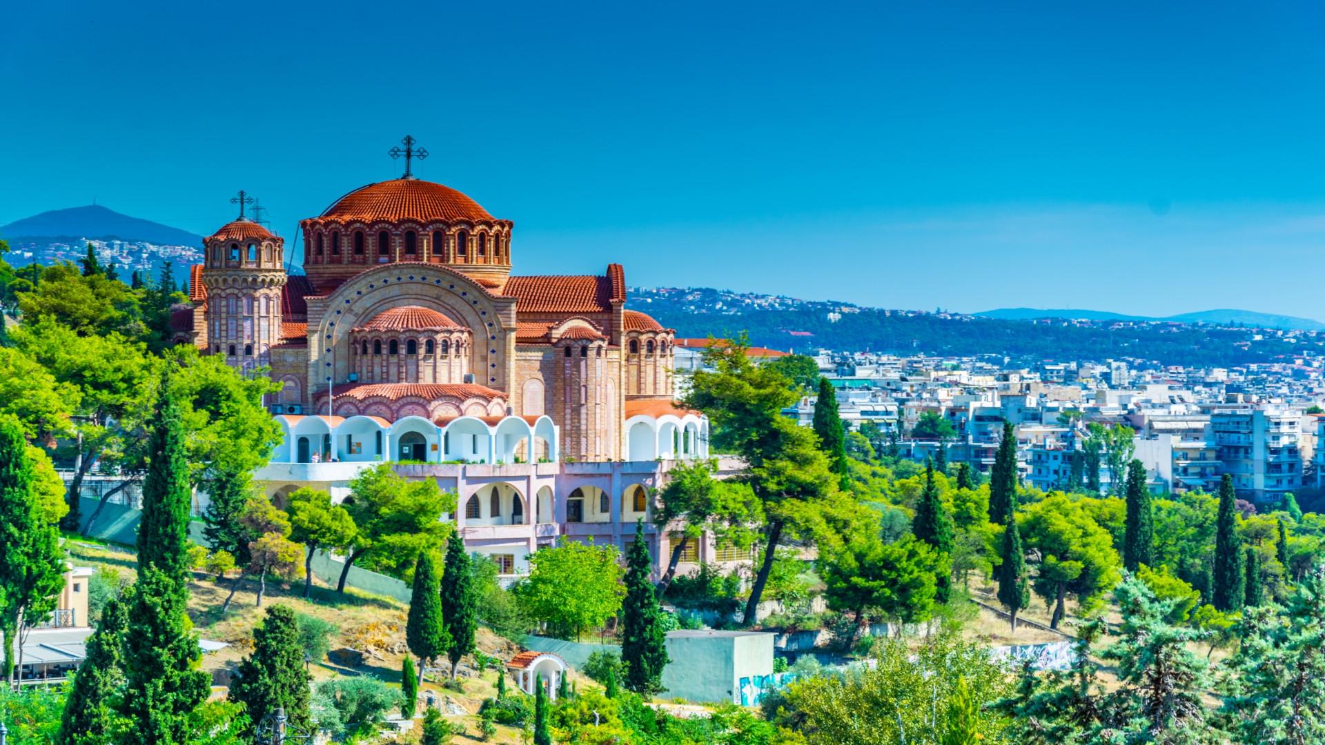 Saint Paul kathedraal in Thessaloniki, Griekenland