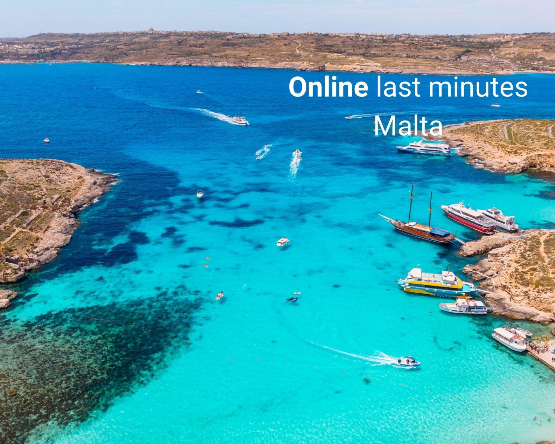 Last minute Malta - baai Comino