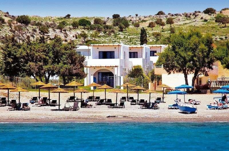 Katikies Studios & Appartements – Lardos – Rhodos - Griekenland -vanaf zee