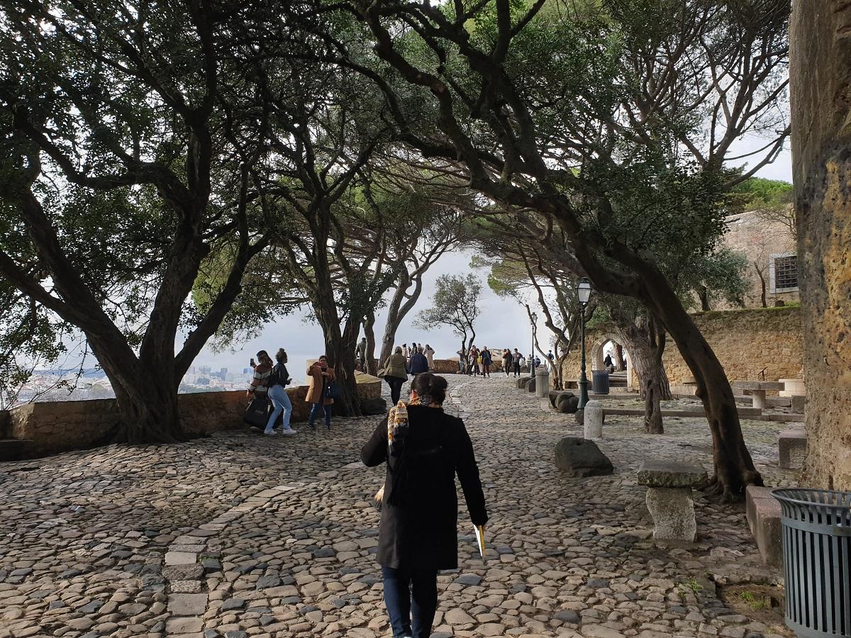Eén van de bekendste bezienswaardigheden van Lissabon, Castelo São Jorge