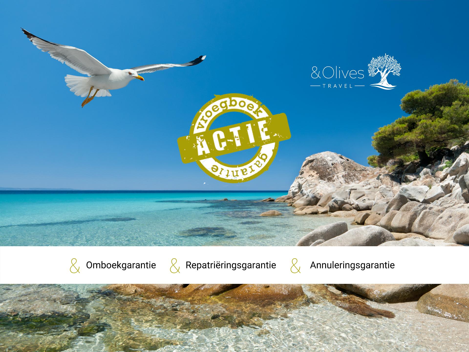 Boek nu jouw vakantie bij Olives Travel en maak gebruik van onze geweldige voorwaarden!