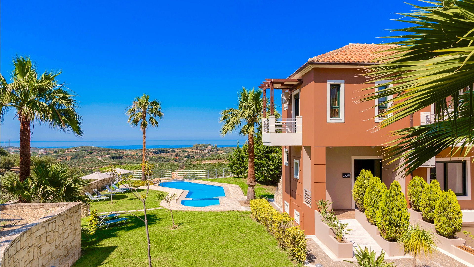 Villa Myrtia op kreta