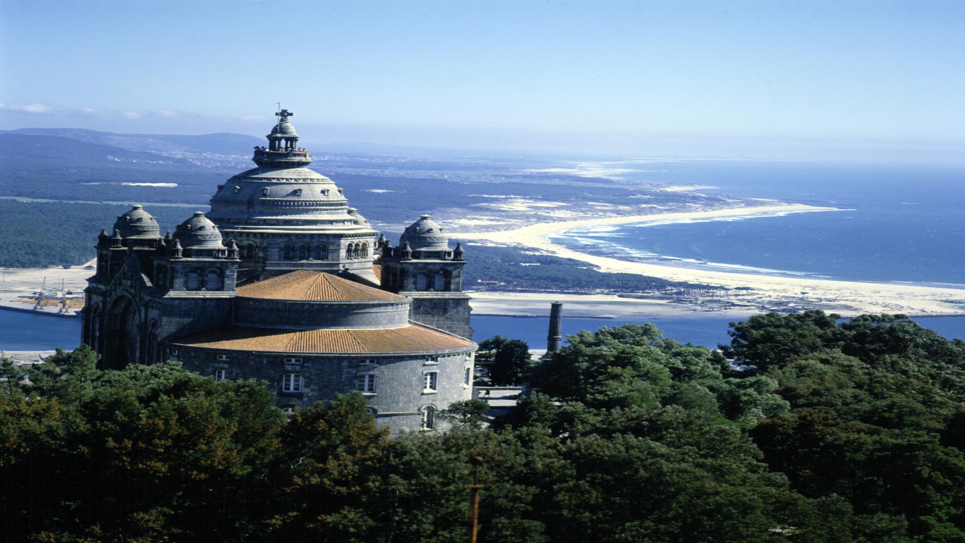 Santuario de Santa Luzia, Viana do Castelo, Noord Portugal