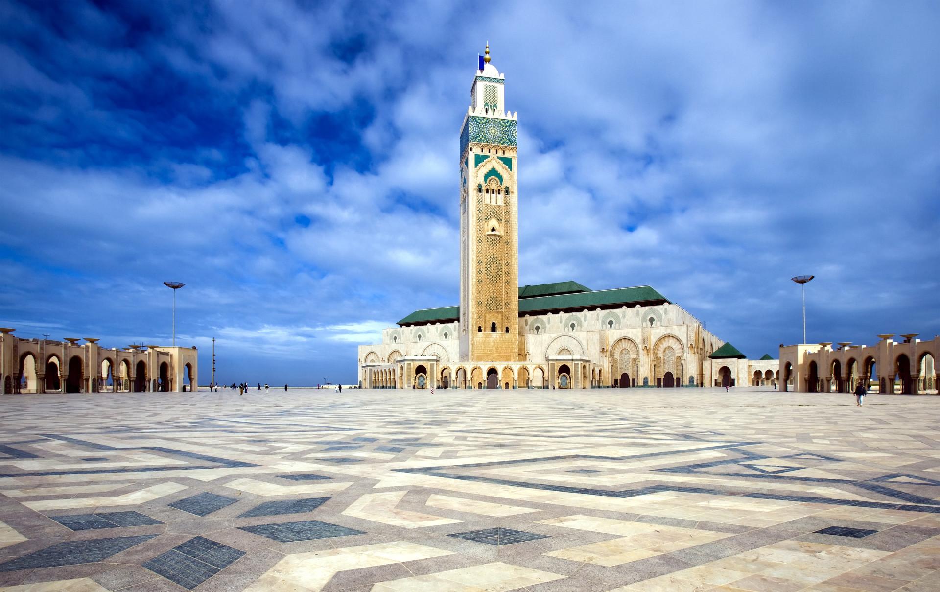 Hassan II moskee, Casablanca, Marokko