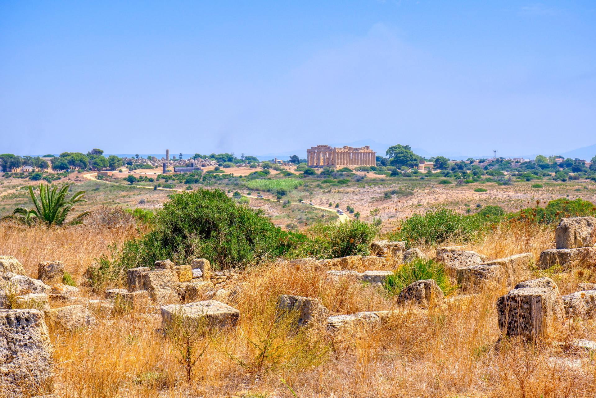 Tempels van Agrigento Sicilie