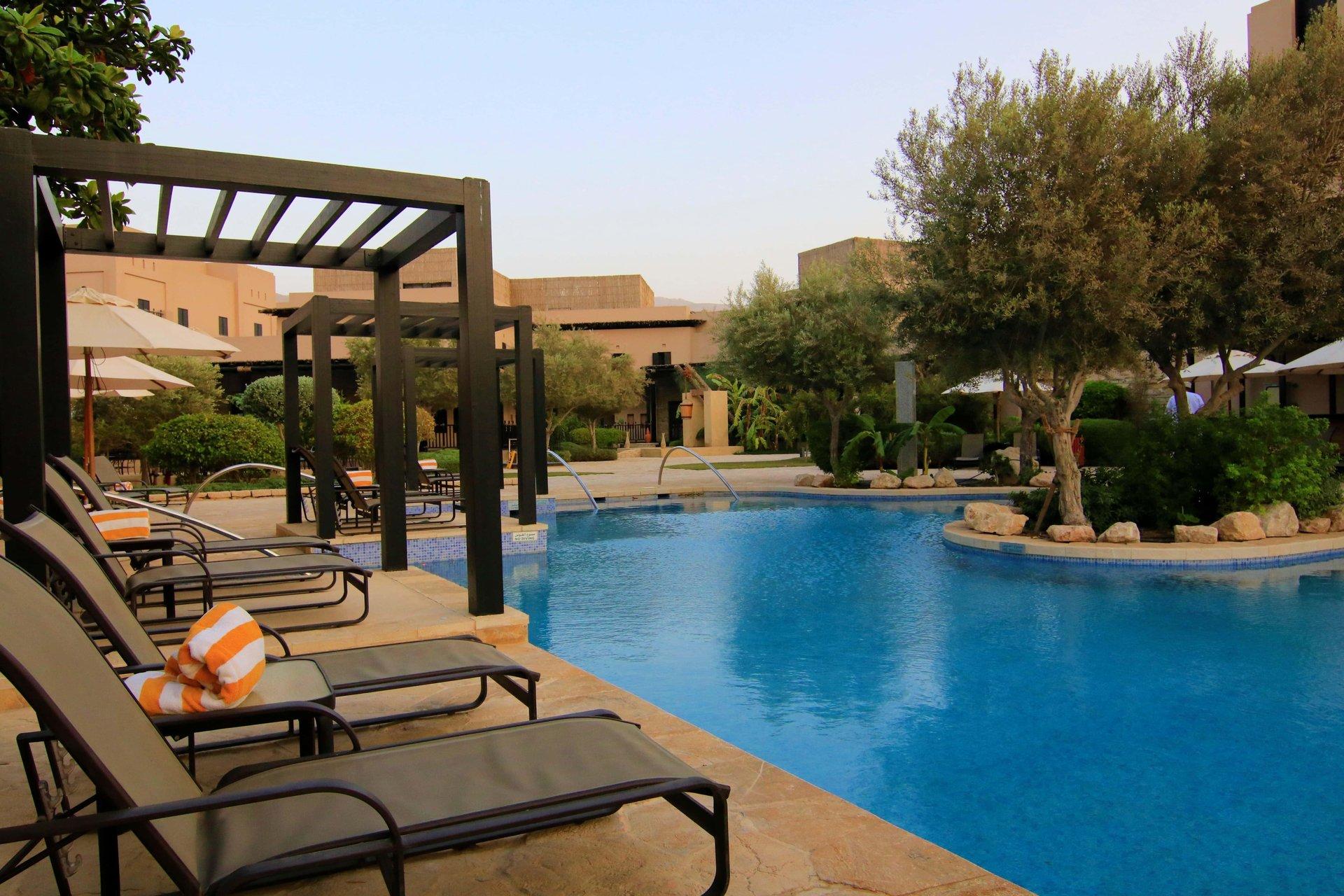Hotel Atana Musandam zwembad - Khasab, Musandam