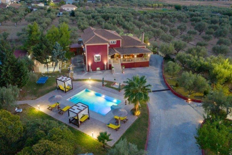 Villa Froso - overzicht