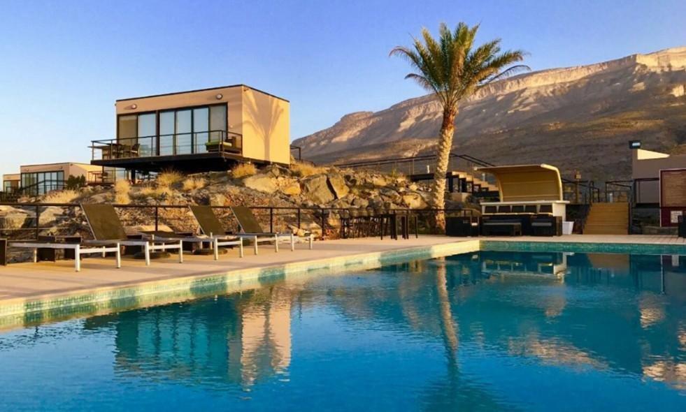 The view zwembad - Jebel Shams