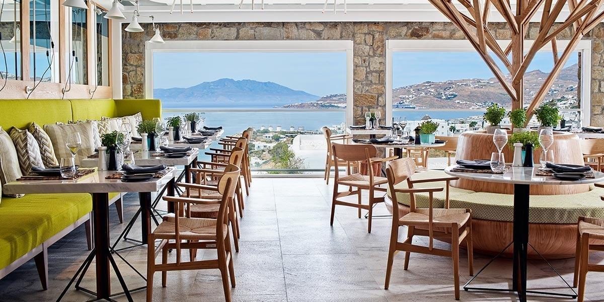 Myconian Ambassador - restaurant