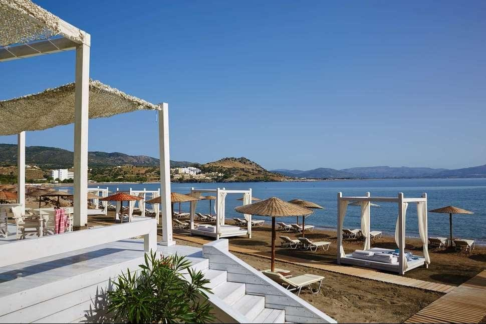 Lindos Blu Luxury Hotel & Suites - Strand