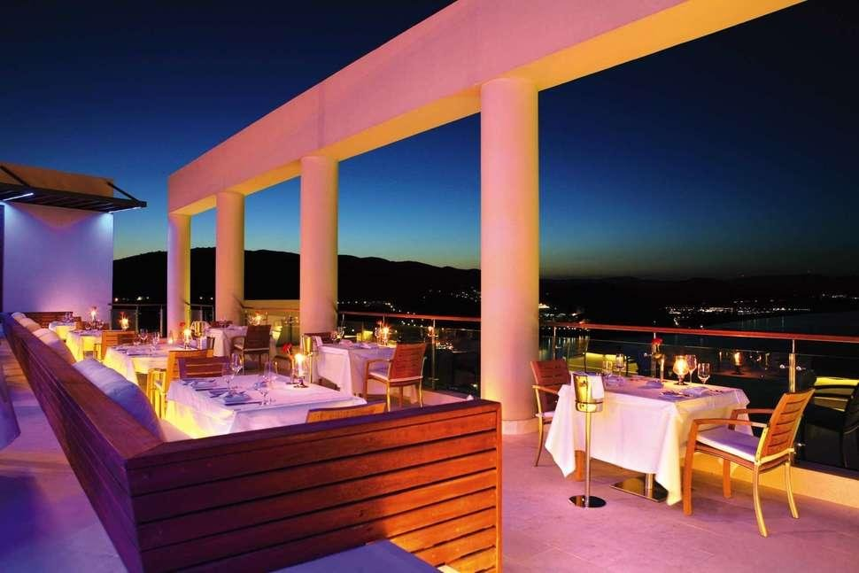 Lindos Blu Luxury Hotel & Suites - Restaurant