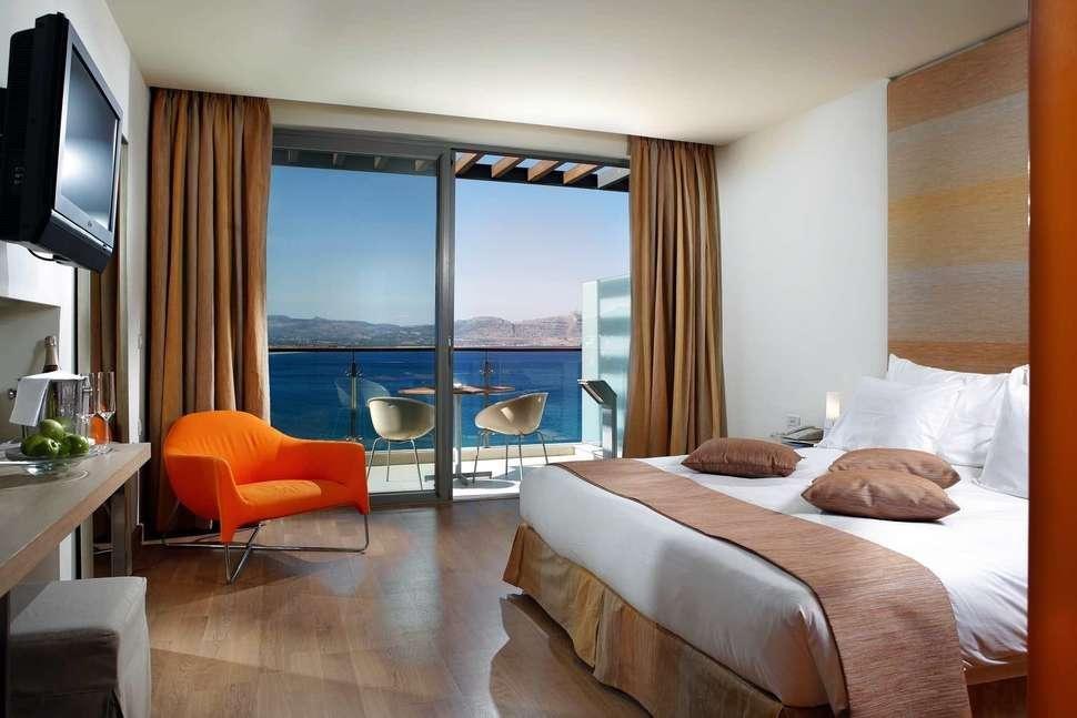 Lindos Blu Luxury Hotel & Suites - Standaard kamer met bubbelbad