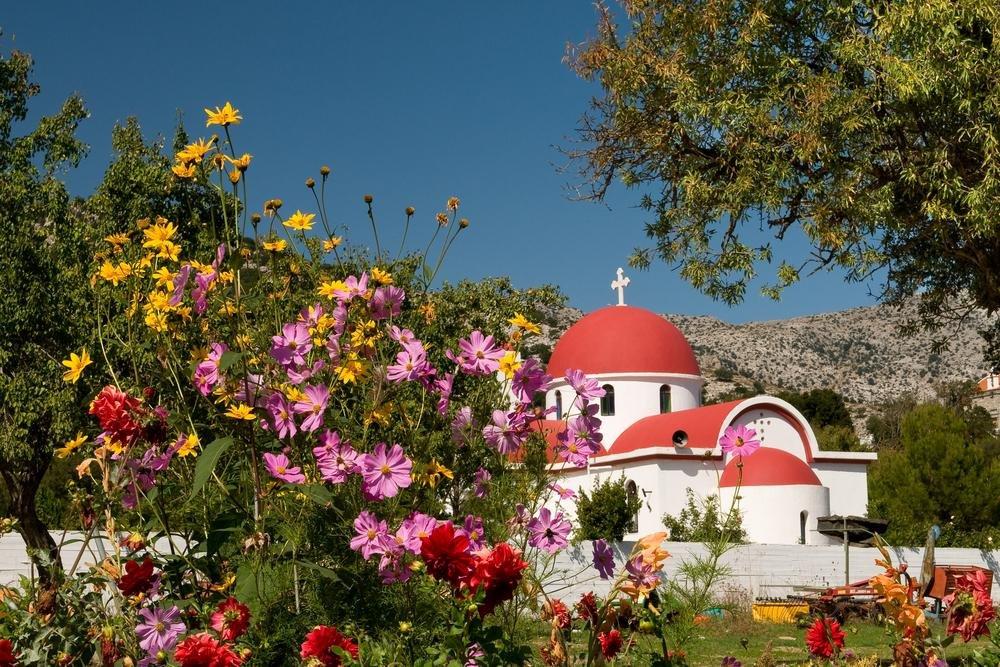 Kreta - Kerkje Lassithi hoogvlakte