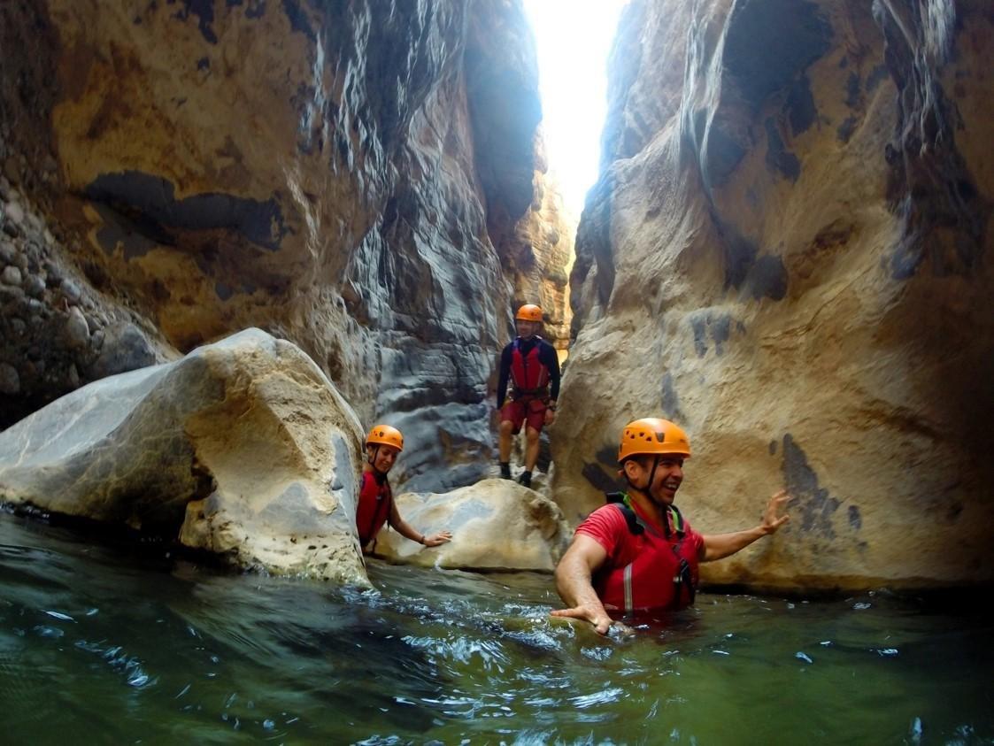 Canyoning - Oman