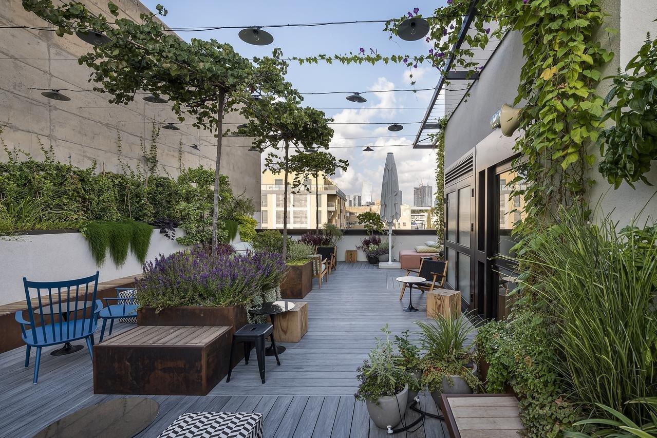 stadsterras Hotel Fabric - Tel Aviv