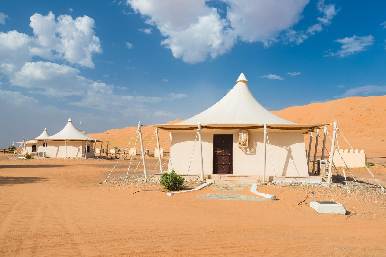 Deluxe tent suite Desert Nights Camp - Wahiba Sands