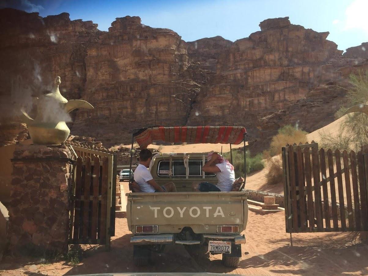 Rahayeb Desert Camp - Wadi Rum