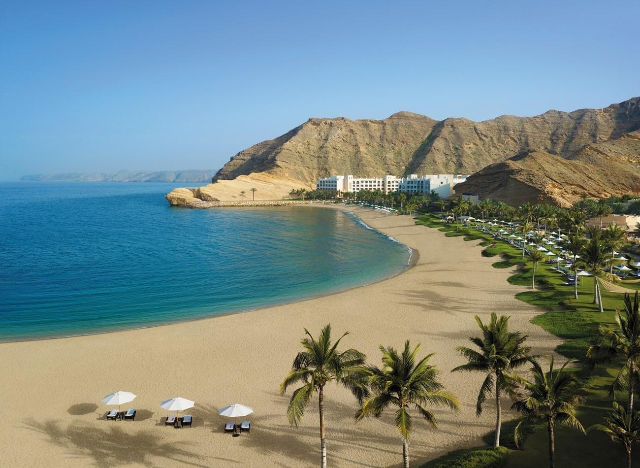 Hotel Shangri-La Al Bandar strand - Muscat
