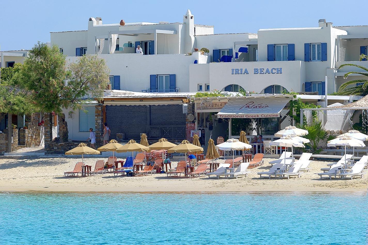Hotel Iria Beach - strand