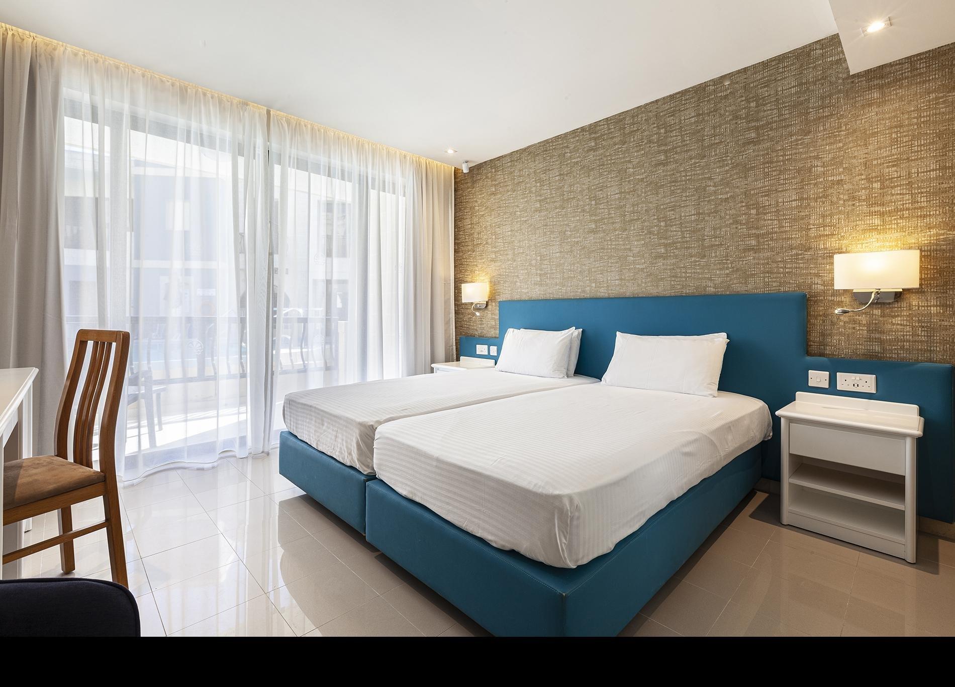 Hotel & Appartementen Pergola kamer zwembadzicht - Mellieha