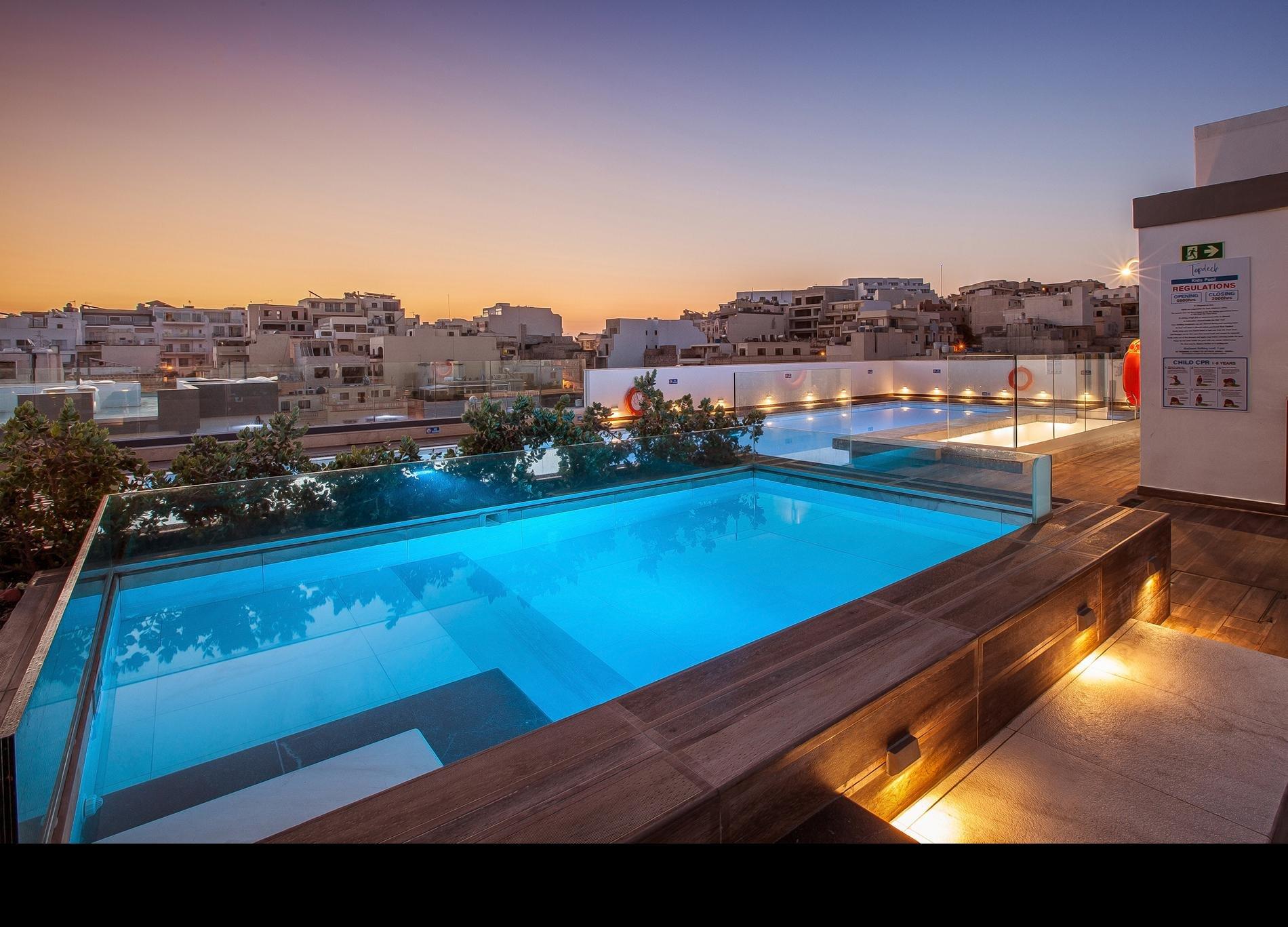 Hotel en appartementen Solana - Mellieha
