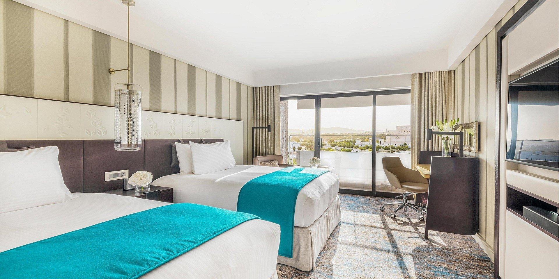Hotel Intercontinental Muscat kamer - Muscat
