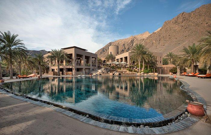 Hotel Six Senses Zighy Bay zwembad - Musandam