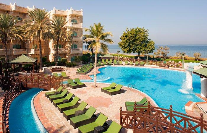 Hotel Grand Hyatt Muscat zwembad - Muscat