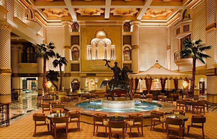 Hotel Grand Hyatt Muscat lobby - Muscat